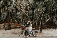 Our favorite thing about Tulum (okay, everyones favorite) is the juxtaposition of the jungle and beach. Simultaneously adventurous and relaxing, the Riviera Maya was the perfect destination for Casie + Peters nuptials. Check out more on June Bug Weddings! Sanara Tulum offered an intimate indoor ceremony space that was perfect for the couples boho vibe. …