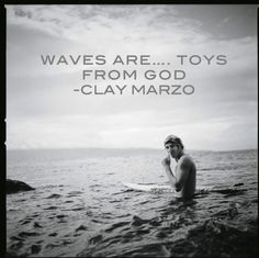 Clay Marzo... one of the top surfers in the world (& he has Asperger's Syndrome)... such an inspiration! :)