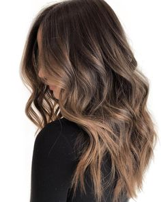 popular brunette balayage hair color ideas 31 ~ my.me popular brunette balayage hair co. Brown Hair Balayage, Brown Ombre Hair, Brown Blonde Hair, Brown Hair With Highlights, Light Brown Hair, Ombre Hair Color, Hair Color Balayage, Brown Sombre, Brunette Ombre Balayage