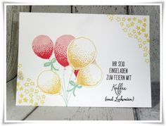 Partyballons, SU, Stampin up, 2016