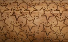 Twinkling Stars - Custom Engraved Rolling Pins Imprint Patterns into Cookie Dough. Great for Christmas, baking, pies, cookies or pottery.  So many uses!  #rollinginthedough #everlastingdoodle
