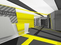 OFFICE OF THE CARGO DELIVERY COMPANY by Ekaterina Krotenko, via Behance