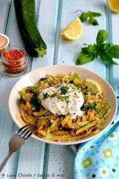 Summer Squash Recipes, Summer Recipes, Love Eat, Love Food, Pasta Recipes, Cooking Recipes, Vegetarian Recipes, Healthy Recipes, Winter Food