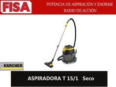 ASPIRADORA T 15/1 Potencia de aspiracion y enorme radio de acción -FERRETERIA INDUSTRIAL -FISA S.A.S Carrera 25 # 17 - 64 Teléfono: 201 05 55 www.fisa.com.co/ Twitter:@FISA_Colombia Facebook: Ferreteria Industrial FISA Colombia