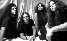 "Death: Death was an American metal band founded in 1983. The band's founder, Chuck Schuldiner, is considered ""a pioneering force in death metal""."