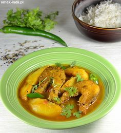 Traditional Bengali Macher Jhol - fish curry prepared with mustard oil and Bengali spices. Seafood Recipes, Soup Recipes, Bengali Fish Curry, Mustard Oil, Wok, Thai Red Curry, Stew, Spices, Meat