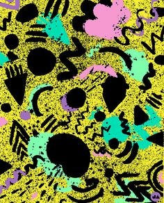80's graphic pattern