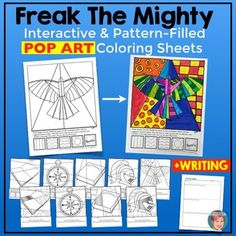 Freak the mighty by rodman philbrick 6 stages of plot for Freak the mighty coloring pages