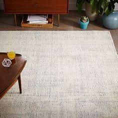 Parallels Wool Rug - Lagoon