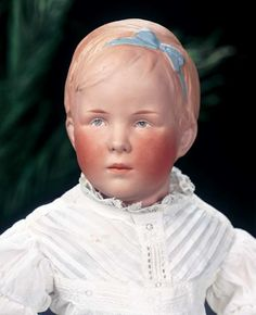 "Rare German Bisque Character Doll Known as Princess Juliana......... Gebruder Heubach 8381. Price realised 19500 18"" (46 cm.)"