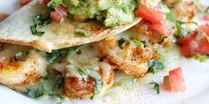 Best Old Bay Shrimp Quesadillas Recipe - Delish.com