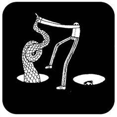 Inner | #Omeini by Luigi Viscido, via Flickr | #art #italy #illustration