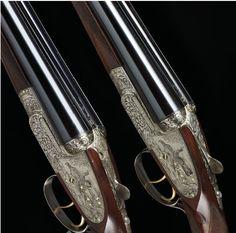 holland and holland shotguns | pair of 12-bore double-barreled Holland & Holland shotguns. (5 of 5)