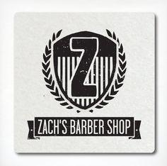 Zach's Barber Shop by Marco Boulais, via Behance