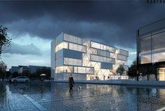Netzwerkarchitekten gewinnen Wettbewerb der Hochschule Bochum / Neben der Blue Box - Architektur und Architekten - News / Meldungen / Nachrichten - BauNetz.de