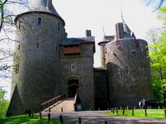 Castell Coch, Wales. Possibly my favourite place but certainly my favourite castle! It is just the most beautiful place.