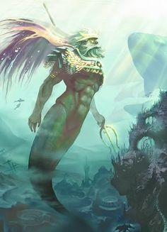 Achelous – God of all water creatures and side-quest boss ... Achelous River God
