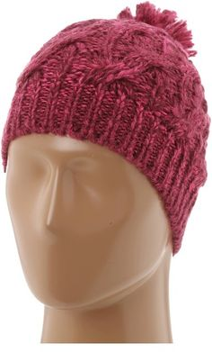 $30, Burgundy Beanie: Burton Stellar Beanie Hats. Sold by Zappos. Click for more info: https://lookastic.com/women/shop_items/10782/redirect