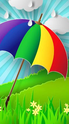 umbrella wallpaper by rehanazhar - 64 - Free on ZEDGE™ Apple Logo Wallpaper Iphone, Flower Phone Wallpaper, Rainbow Wallpaper, Colorful Wallpaper, Galaxy Wallpaper, Cellphone Wallpaper, Laptop Wallpaper, Beautiful Flowers Wallpapers, Beautiful Nature Wallpaper