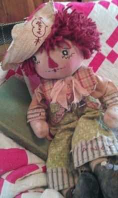 free patterns for andy and annie dolls | ... Andy Loves Annie, Original Primitive Doll Pattern, FREE SHIPPING or