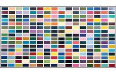 GERHARD RICHTER - 256 Farben (256 Colours) 1974/84
