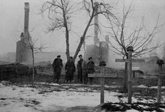 The Lazebnik family home in Lenin, Poland burned to the ground. Faye set it on fire after it had been taken over by the Nazis. 1943. Photo by Faye Lazebnik Schulman.