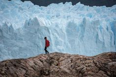 "From our @outdoorwomen Instagram community: ""Adopt the pace of nature. Her secret is patience."" -Ralph Waldo Emerson. @oldsawmedia shares a snapshot of their ice-trekking trip on the Perito Moreno Glacier in Argentine Patagonia. :: How has being in nature taught you patience recently? Share with us in the comments below."