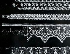 Т Lace Painting, Dot Painting, Stone Painting, Hena, Folk Art Flowers, Tambour Beading, Lace Art, Mandala Dots, Lace Patterns