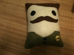 Ron from Parks and Rec, made by my daughter as a gift for a friend.