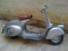 """Vespa 98, 1946 il """"Parafangone"""""""