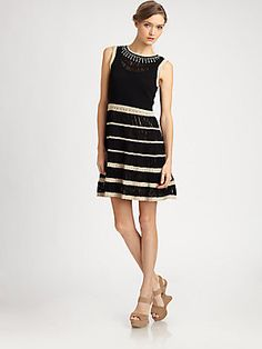 Nanette Lepore Cotton Fantastical Dress
