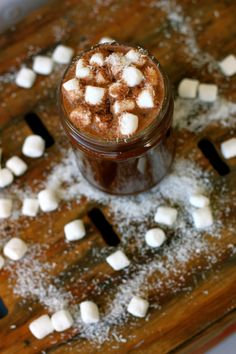 ONE Coconut Water Hot Chocolate. Have a ONE coconut water recipe you love? Share with us using the hashtag (Chocolate Shake With Cocoa Powder) Yummy Treats, Sweet Treats, Yummy Food, Smoothie Drinks, Smoothie Recipes, Coconut Water Recipes, Chocolate Shake, Dessert Recipes, Desserts