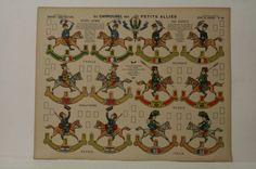Pellerin Imagerie D'Epinal No 10 Le Carrousel Série de Guerre Constructions | eBay
