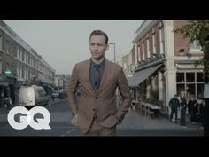Tom Hiddleston Suits Up in This Season's Color (Brown)   GQ