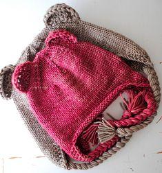 Ravelry: Project Gallery for Darling Little Ear Flap Hat pattern by Ashley Darling