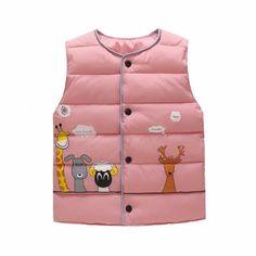 WARMSHOP Kids Boys Girls Solid Long Sleeve Knit Zipper Cardigan Cartoon Panda Pattern Sweater Warm Coat Clothes