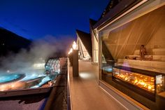 Spa Austria: The 4 star superior hotel is a real hot spot for enjoyers: The best thermal resort of the Alps puts together utmost relaxation & well-beeing Adelboden, Phuket, Tulum, Marrakech, Spas, Hotel Villas, Aqua, Outdoor Baths, Best Spa