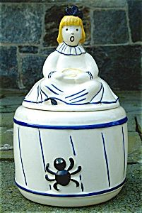 Little Miss Muffet Cookie Jar