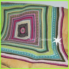 Aprildecke / April Blanket   Terras Kreativecke
