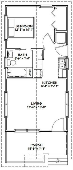 16x32 workshop plans google search workshop planstiny house - Tiny House Layout Ideas