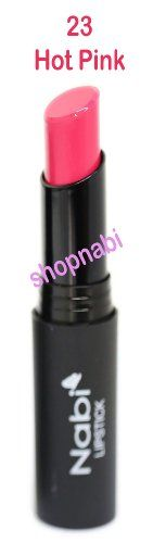 Lipstick Nabi Round Lipstick  23Hot Pink -- You can get more details by clicking on the image.Note:It is affiliate link to Amazon.