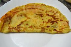 Mi Diversión en la cocina: Creps de sobrasada y queso gran padano