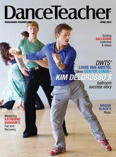 Louis Van Amstel on Dance Teacher's April 2012 cover