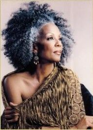 hairstyles showing gray dyed hair on african-american women - Google Search