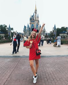 Happiest girl in the HAPPIEST PLACE ON EARTH we used to come to Disney World all the time as a family and I love feeling like a kid again Can't wait to explore more parks today!
