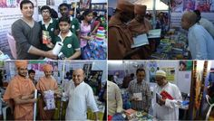 Iskcon Surat Book-fair Report With Photos And Idt Hindi Report (Album with photos)      Surat congregational devotees took part enthusiastically in National Book Fair held by Surat Municipal Corpor…