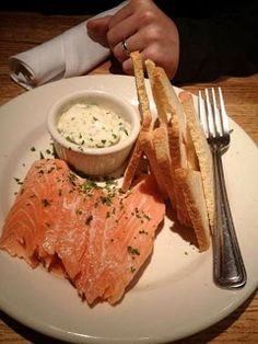 The Family Recipe Cookbook: Houston's Smoked Salmon Appetizer