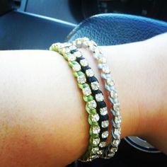 Satin with strass Satin, Bracelets, Jewelry, Rhinestones, Jewlery, Bijoux, Satin Tulle, Schmuck, Jewerly
