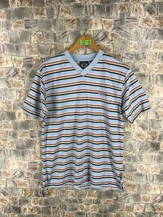 f46095ef4 Vintage VANS USA Stripes Tshirt Medium 90's Rockabilly Striped Border  Skaters Old School Grunge Og Streetwear Unisex Tee Tshirt M