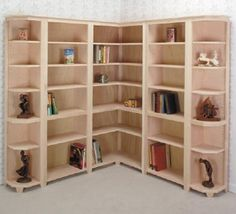 bookcase idea, I don't see why @Ryan Peyton can't build me this!